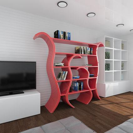 Libreria design Tulip1