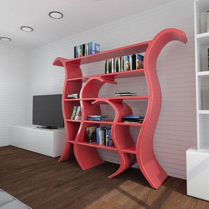 Libreria Design Tulip 2
