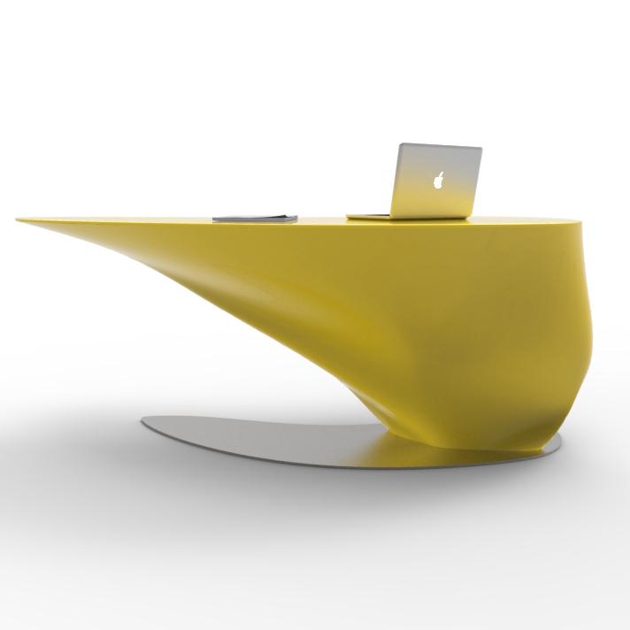 scrivania design atkinson arredo di alto design made in italy. Black Bedroom Furniture Sets. Home Design Ideas