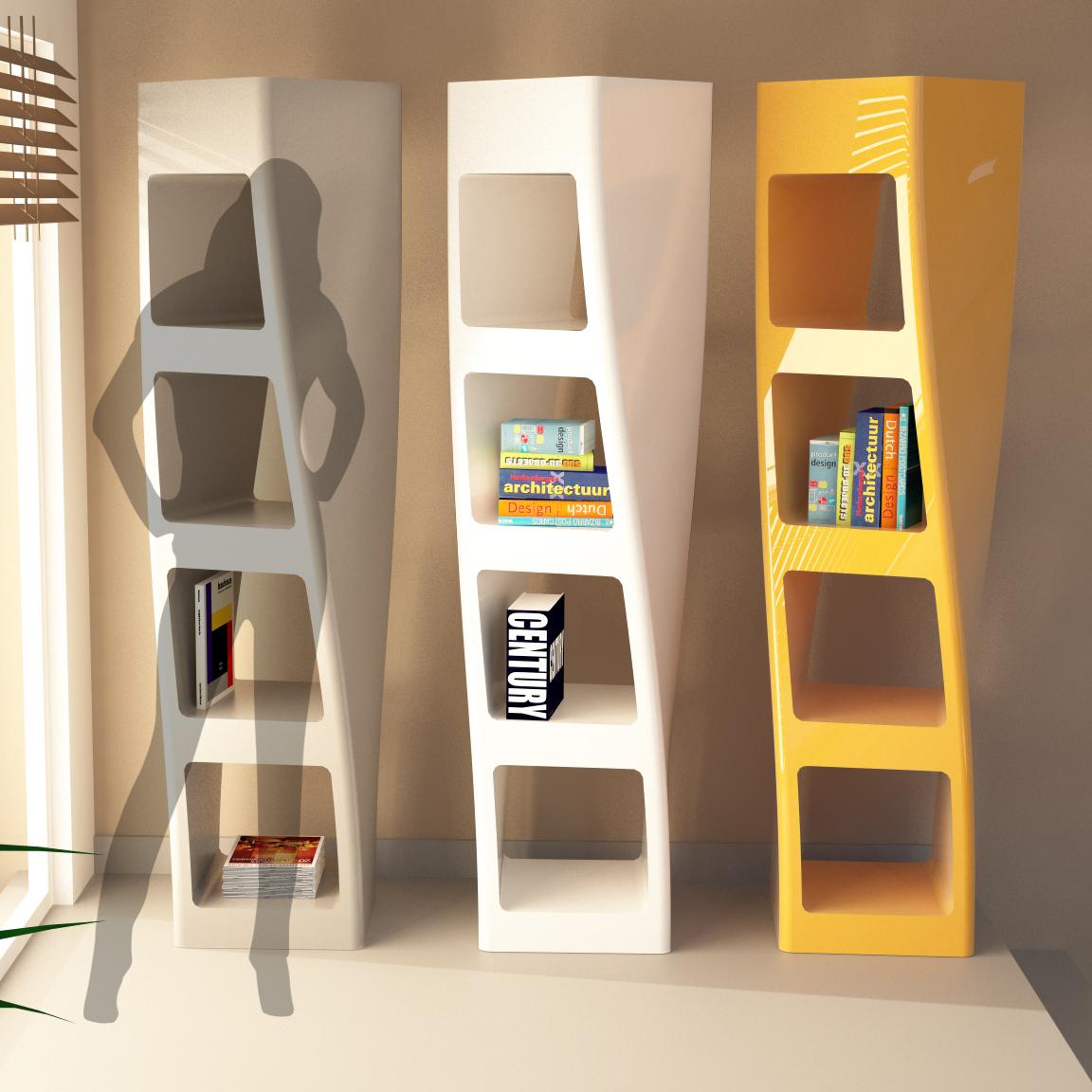 Collins librerie design zad zone of absolute design for Libreria design