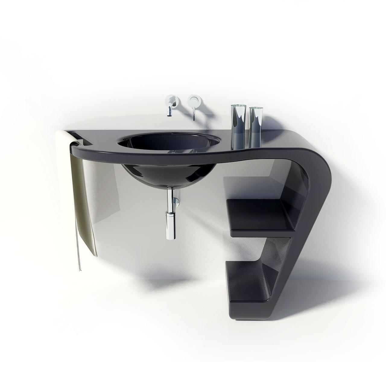 VABO  LAVANDINI E VASCHE  ZAD - Zone of Absolute DesignLavandino Design Vabo, realizzato con ...