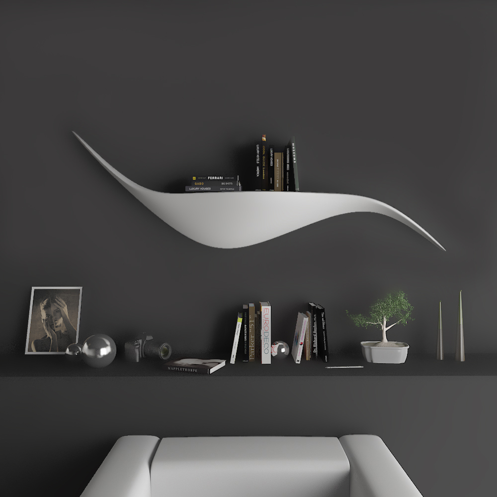 Shelfy mensole design zad zone of absolute design for Mensole design bagno