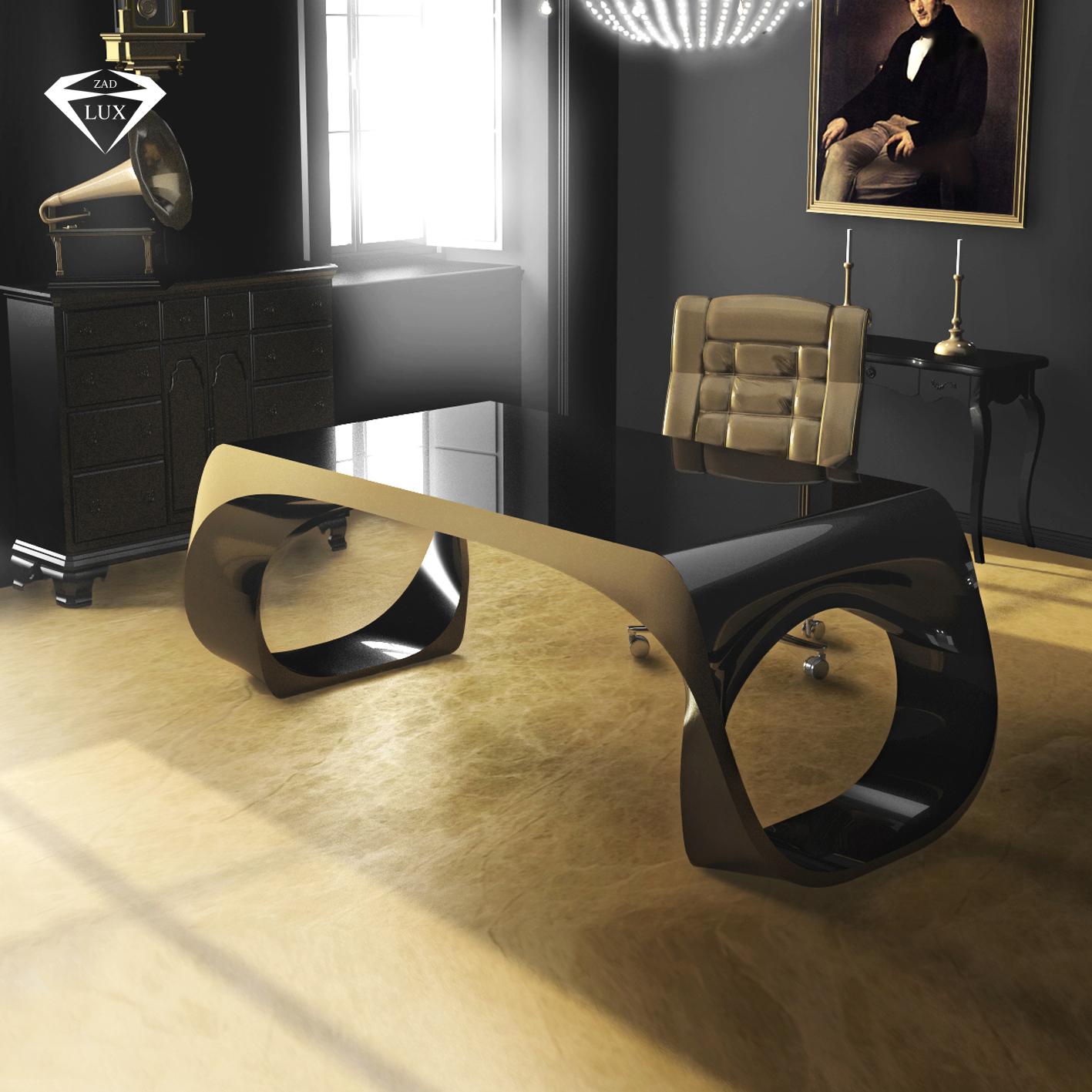 Infinity desk zad zone of absolute designarredamenti for Scrivania avvocato