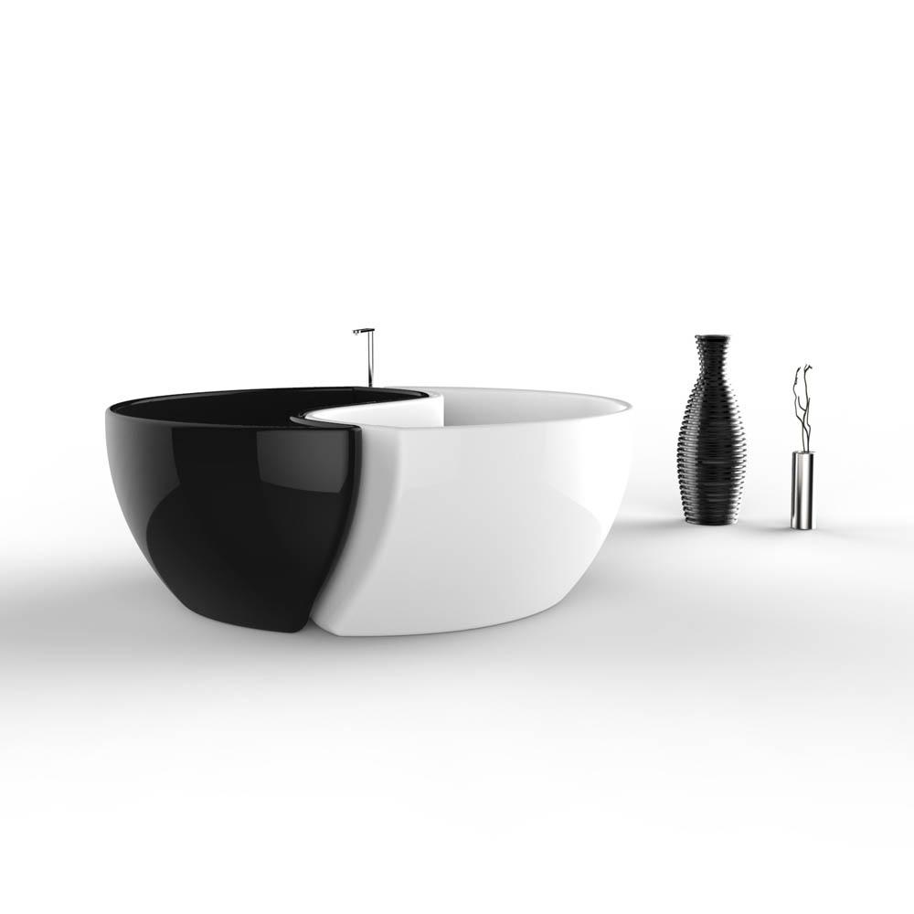 Bath tao zad zone of absolute designarredamenti di lusso vasca da bagno bath tao per 2 - Decor italy vasca ...