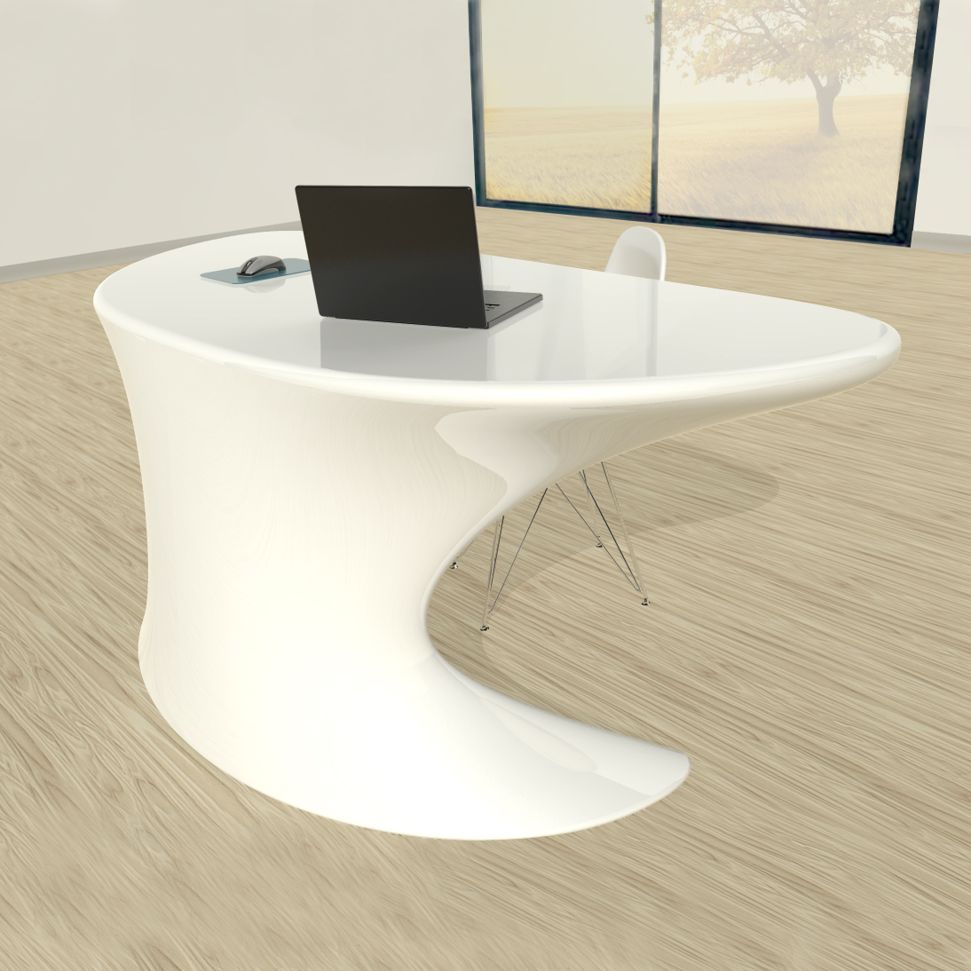Cobra tavoli e scrivanie zad zone of absolute design for Scrivanie moderne design