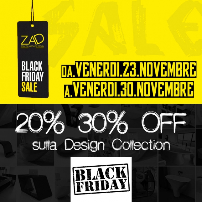 Black Friday Zad Italy 2018