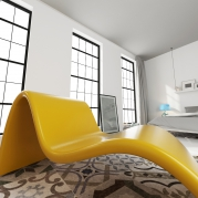 Chaise Lounge in Adamantx®, by Rocco Moliterni
