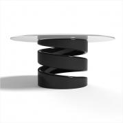 Tavolino Design in Adamantx® e Cristallo by Dario Martinelli