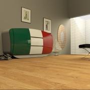 Direttamente dagli anni 50, arriva la Madia BOOM di Roberto Corazza Designer