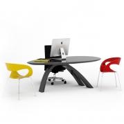 Desk Jack II in Adamantx®, made in italy, by Antonio Ciuffrida Designer per ZAD ITALY