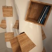 Libreria design made in italy modello K2 | vista dettaglio
