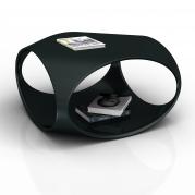 Tavolino Asferoide in Adamantx® dal design unico e originale. By Ugo Pagliaro Designer.