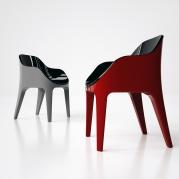 Sedia Pinter, per lunghe chiacchierate, by Edoardo Carlino