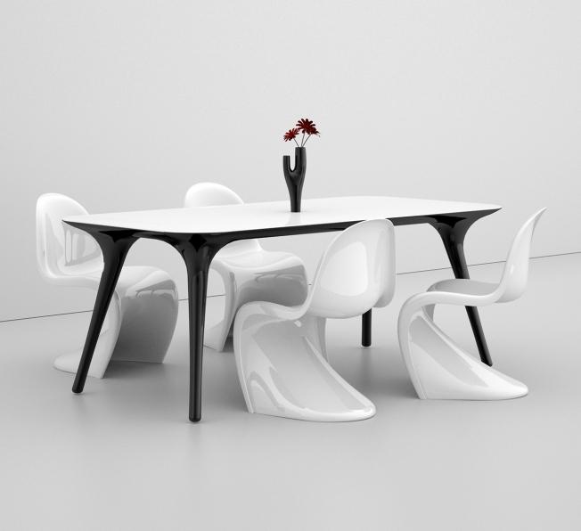 Tavolo monoscocca PILO, by Studio PANG Design