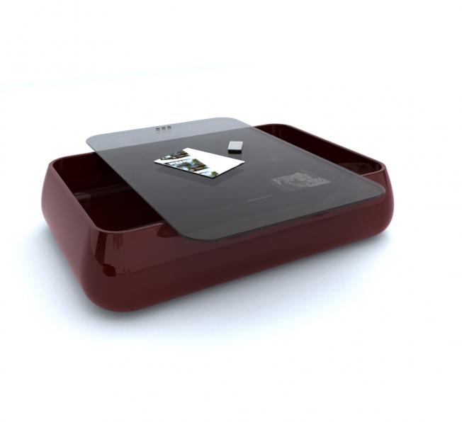 Tavolino da fumo ideato in Adamantx® da Sabino Ferrante