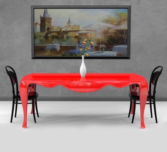 Tavolo Lothar di Giovanni Cardinale per Zad Italy