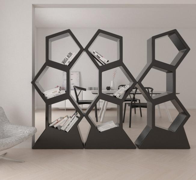 Libreria DesignPentagono - Alberto Recchia Designer