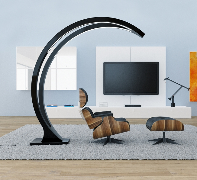 Moon Lamp in Adamantx® by Luca Delano Designer
