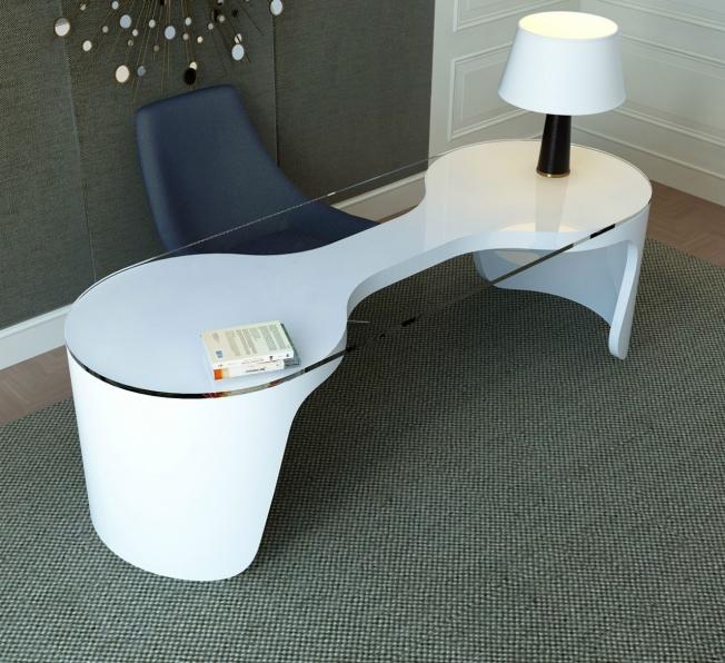 Scrivania Design in Adamantx® Delia Zad Italy
