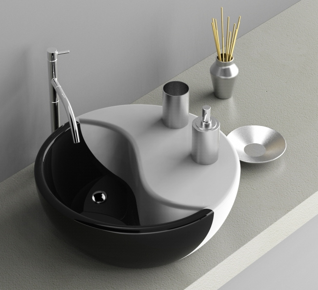 Lavabo in Adamantx® TAO by Gianluca Minchillo