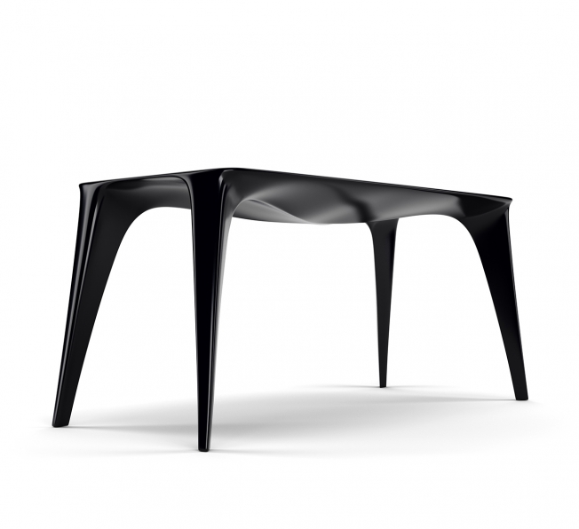 Tavolo Desk in Adamantx® monolitico by KIMXGENSAPA