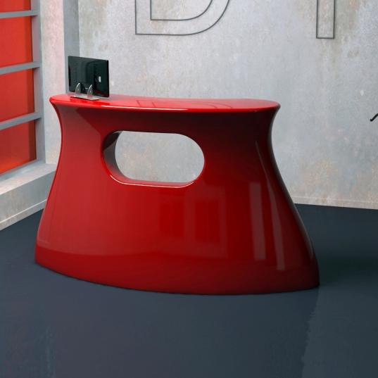 Desk Reception,Cassa by Paolo D Ippolito
