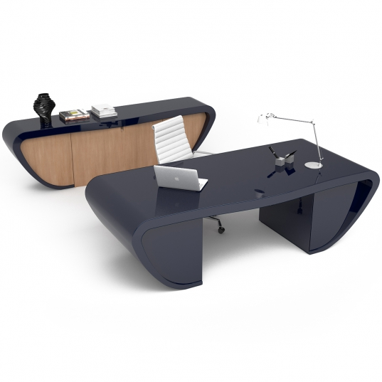 Desk Handy in Adamantx® e Legno per Zad Italy.com