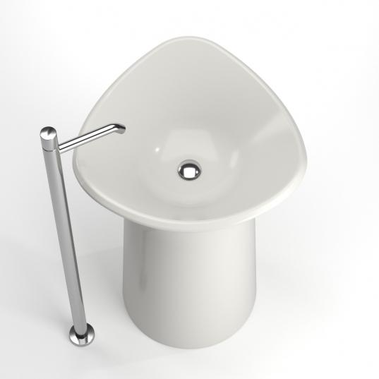 Lavabo Design Mollis di Francesco Bazzica Designer