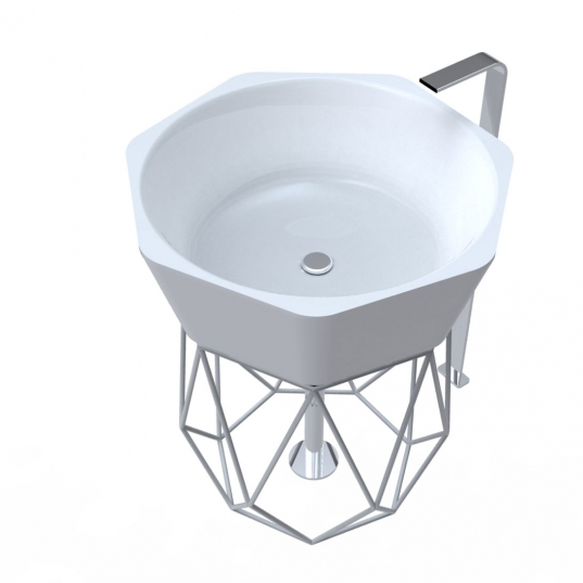 Lavabo design Diamond - Adamantx®
