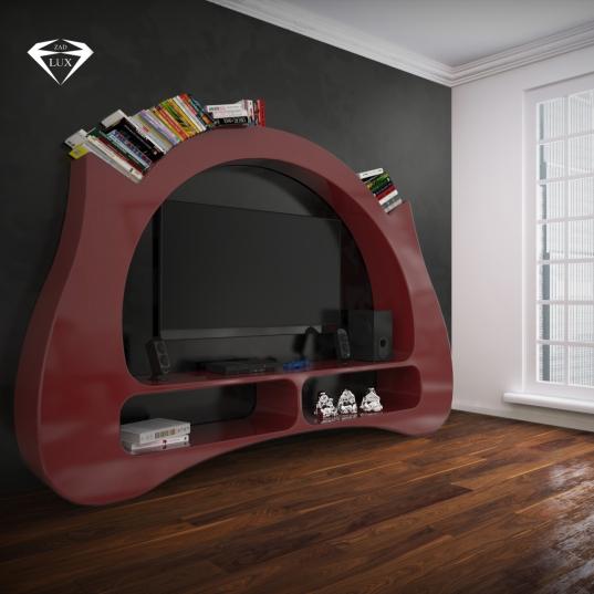 Libreria Design My Space Red