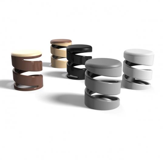 Sgabello basso Mini Déco di Dario Martinelli Designer