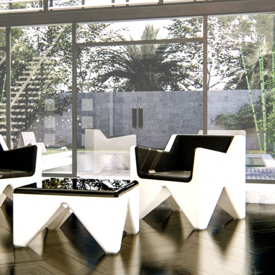 poltrona design Toty One in Adamantx®
