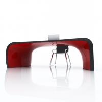 Tavoli di design made in italy | vista 1 | nero rosso